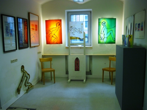 New stained glass studio in Graz!