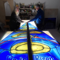 Mark Angus - The Graz Stained Glass Studio